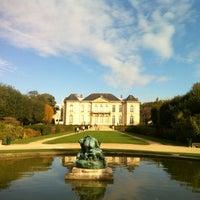 Photo taken at Musée Rodin by Oguz B. on 10/28/2012