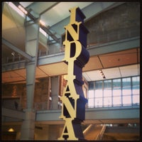 Photo taken at Indiana State Museum by Tash C. on 1/25/2013