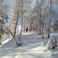 Photo taken at ГЛЦ Гора Вишнёвая by Shirrman on 1/27/2013