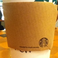 Photo taken at Starbucks Coffee by Andrew T. on 1/31/2013