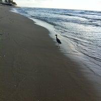 Photo taken at Lantana Beach by Eda E. on 5/16/2013