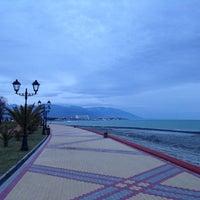 Снимок сделан в Набережная Олимпийского парка пользователем Valeriy G. 1/26/2014