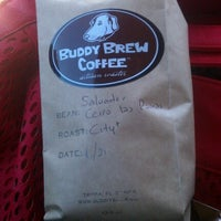 Photo taken at Buddy Brew Coffee by Anna O. on 2/2/2013