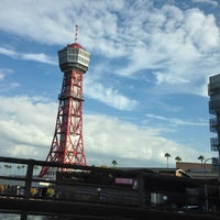 Photo taken at Bayside Place Hakata by November on 10/11/2012