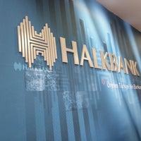 Photo taken at Halkbank by Yusuf Ç. on 12/26/2014