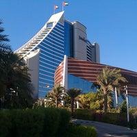 Photo taken at Jumeirah Beach Hotel by Owais A. on 9/24/2013