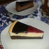 Photo taken at Maria's Cheesecakes by Baki A. on 1/12/2013