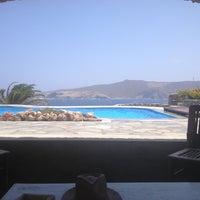 Photo taken at Mykonos Thea Hotel by Krystelle G. on 7/20/2013