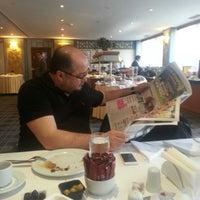 Photo taken at Aldino Hotel by Senol U. on 2/19/2013