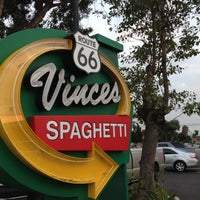 Photo taken at Vince's Spaghetti by Pete A. on 10/21/2012