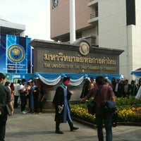Photo taken at University of the Thai Chamber of Commerce (UTCC) by AoyStory on 11/24/2012