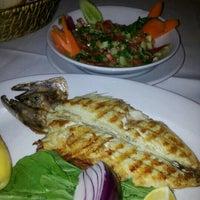 Photo taken at Meydan Balık Restaurant by Ozcan A. on 11/19/2012