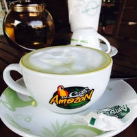 Photo taken at Cafe' Amazon by Sirirat F. on 2/1/2014