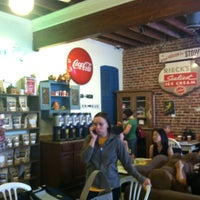 Photo taken at Bean Town Coffee House & Bakery by Nicole S. on 10/21/2012