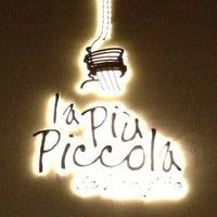 Photo taken at La Piu Piccola by Carlos G. on 10/27/2012