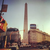 Photo taken at Obelisco - Plaza de la República by Bento on 6/30/2013