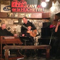 Photo taken at Caveau de la Huchette by Guillaume L. on 4/17/2013
