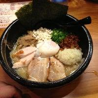 Photo taken at 三代目らーめん処 まるは極 by dotf on 2/28/2013