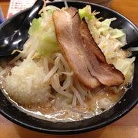 Photo taken at 三代目らーめん処 まるは極 by dotf on 12/10/2012