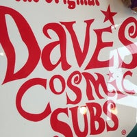 Photo taken at Dave's Cosmic Subs by Mike H. on 11/27/2013