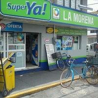 Photo taken at Super Ya!  La Morena by Victor C. on 6/25/2013