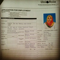 Photo taken at Uni.Asia General Insurance Berhad by 'Areyou Z. on 1/10/2013