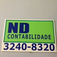Photo taken at NDT Contabilidade by Camila S. on 6/19/2013