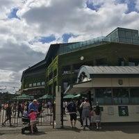 Das Foto wurde bei Wimbledon Lawn Tennis Museum von Roya A. am 7/10/2018 aufgenommen