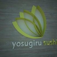 Photo taken at Yosugiru Sushi by Marcos M. on 1/28/2013