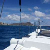 Photo taken at Maita'i Catamaran by Grace F. on 6/15/2013