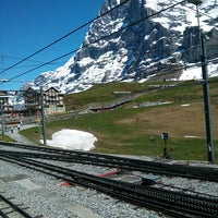 Photo taken at Kleine Scheidegg by Wilfred on 6/16/2013