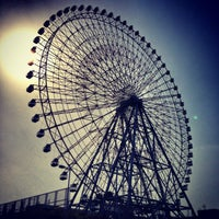 Photo taken at Tempozan Giant Ferris Wheel by Paul A. on 4/5/2013