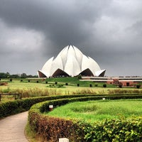 Photo taken at Lotus Temple (Bahá'í House of Worship) by Alexey K. on 8/11/2013