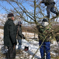 Photo taken at Jabloňový sad by Andrej B. on 2/24/2018
