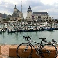 Photo taken at Fullon Hotel Danshuei Fishermen's Wharf by Rick H. on 10/6/2012