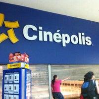 Photo taken at Cinépolis Las Américas by Montcerrat C. on 6/7/2013