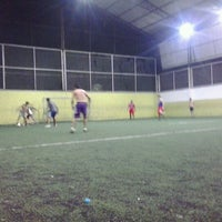 Photo taken at Hamilka Arena Soccer by Wagner N. on 12/4/2012