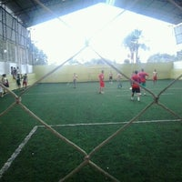 Photo taken at Hamilka Arena Soccer by Wagner N. on 10/20/2012