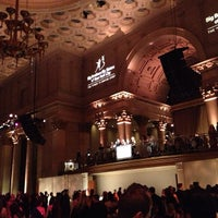 Photo taken at Cipriani Downtown by alison z. on 2/24/2013