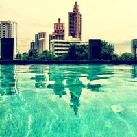 Photo taken at Golden Tulip Mandison Suites by Jerome on 9/22/2012