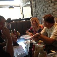 Photo taken at Burgus Burger Bar by Ziv P. on 10/11/2012