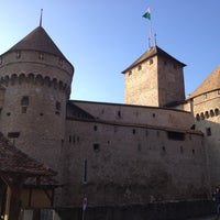 Photo taken at Château de Chillon by Andrey F. on 1/6/2013