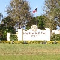 Photo taken at Bent Pine Golf Club by Erin W. on 3/20/2014
