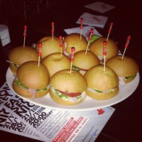 Photo taken at TGI Fridays by PoshFashionNews.com on 1/28/2014