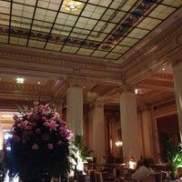 Photo taken at Hotel Grande Bretagne by PoshFashionNews.com on 6/18/2013