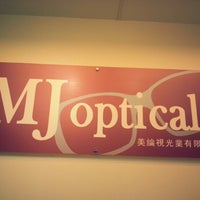 Photo taken at MJ Optical by Chewleng C. on 10/20/2012