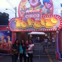 Photo taken at Circo do Topetão by Lucita G. on 11/9/2014