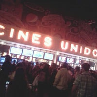 Photo taken at Cines Unidos by Daniel A. on 1/15/2013