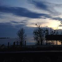 Photo taken at Bagan Lalang Beach by Zulfaizal A. on 11/10/2013