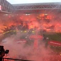 7/6/2013 tarihinde Uğur Danyıldız .ziyaretçi tarafından Türk Telekom Stadyumu'de çekilen fotoğraf